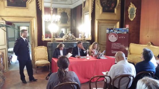 I relatori: da sinistra, Caterina Chinnici, Leoluca Orlando, Rosanna Maranto