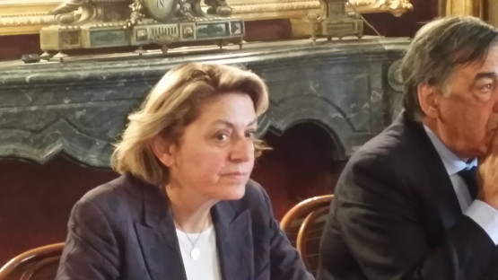 L'onorevole Caterina Chinnici, appena arrivata da Bruxelles